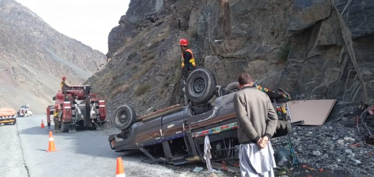 Four injured in road traffic accident