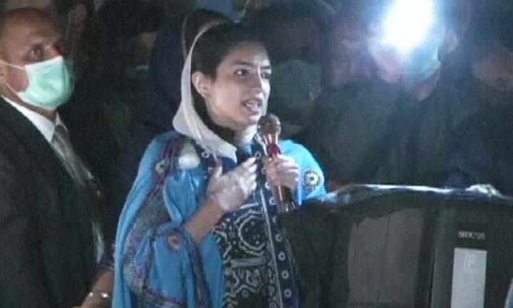 Benazir's daughter makes political debut in Multan