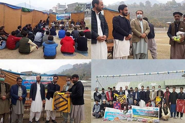 Football kits distributed among youth of Drosh