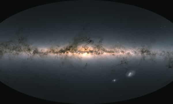 Astronomers unveil most detailed 3D map of Milky Way