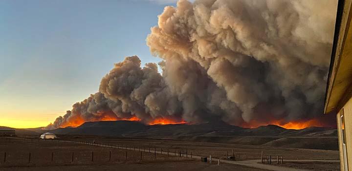 Wildfires, heat waves broke records in 2020