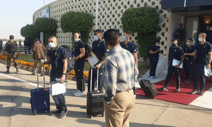 South Africa arrives on tour after 14 years
