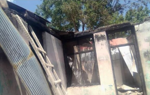 House gutted in fire in Kosht