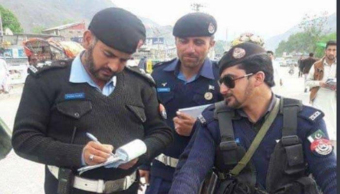 traffic police Chitral