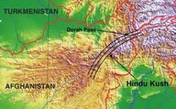 Arandu and Dorah trade routes