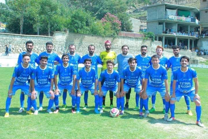 Chitral falcons wins CSL football cup