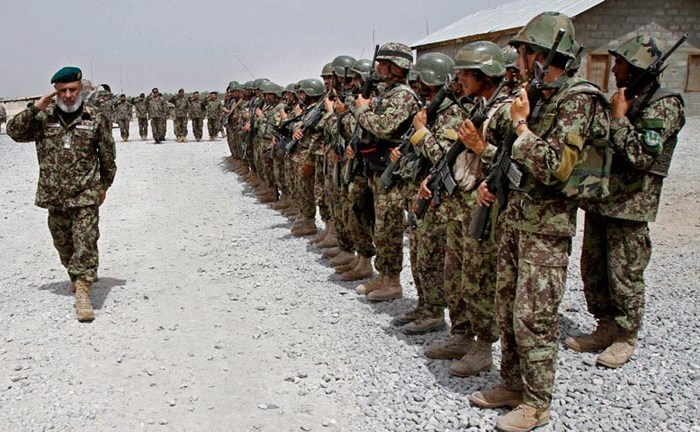 Afghan army collapsed