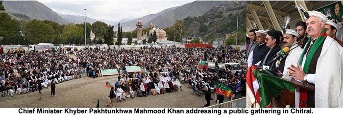Chitral economic zone to create 8,000 jobs: CM