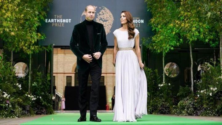 Celebrities join Prince William in repair earth mission