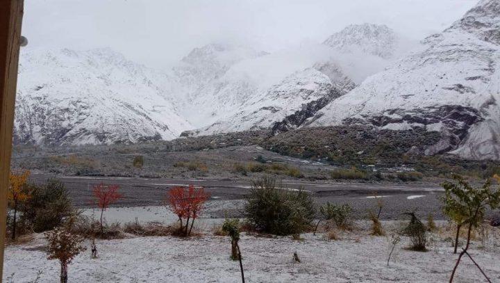 Snowfall of winter 2021nin Brep