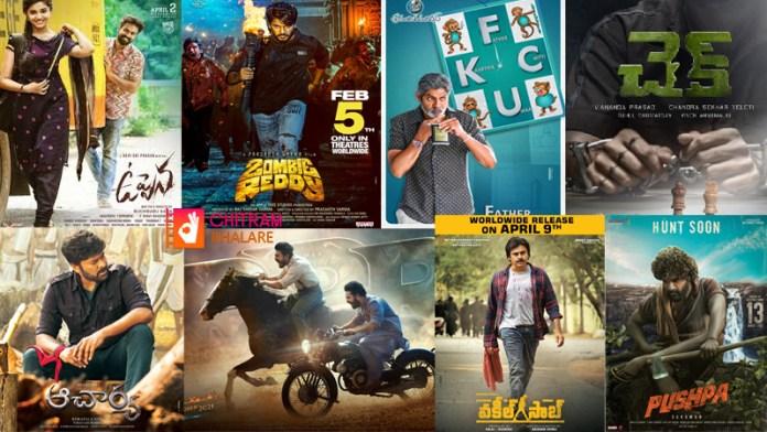 2021 list of Telugu movie release dates, 2021 movie calendar tollywood