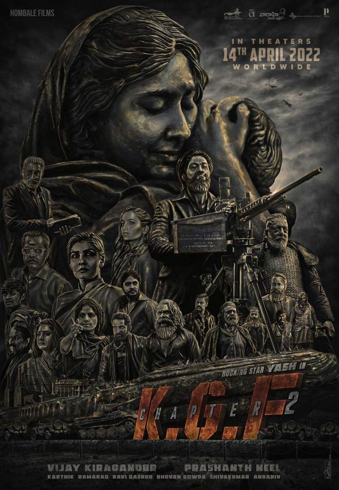 Yash's KGF 2 to release on Apr 14