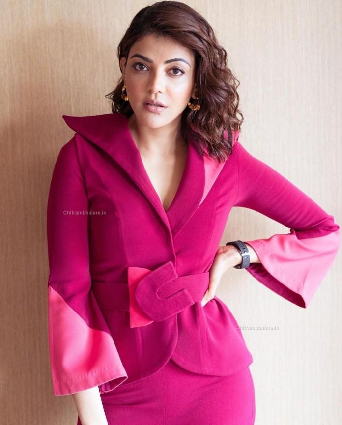 Actress Kajal Aggarwal hot photo shoot pics