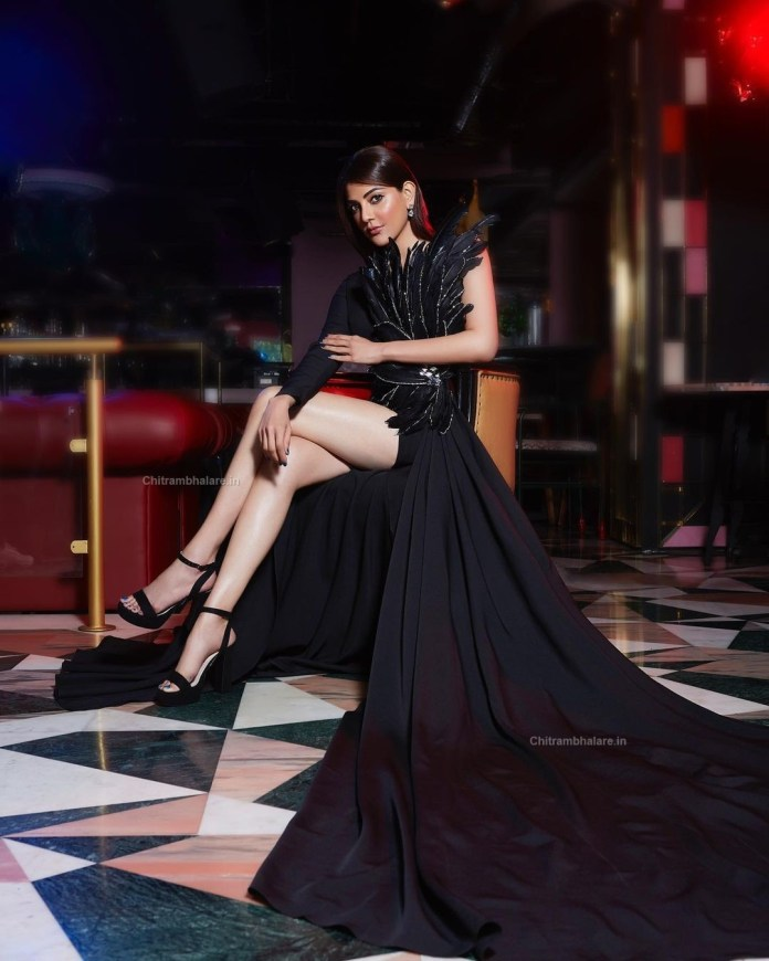 Hot actress Kajal Aggarwal latest photo shoot for fablook magazine stills