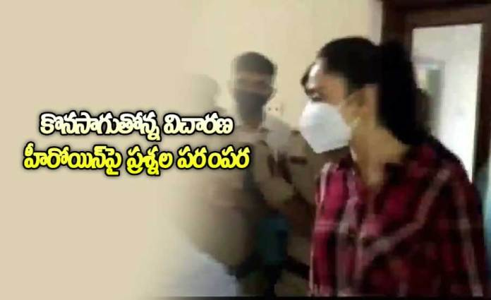Tollywood Actress Rakul Preet Singh attends Investigation at ED Office