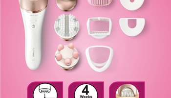 Philips BRE650 Satinelle Prestige Wet & Dry Epilator