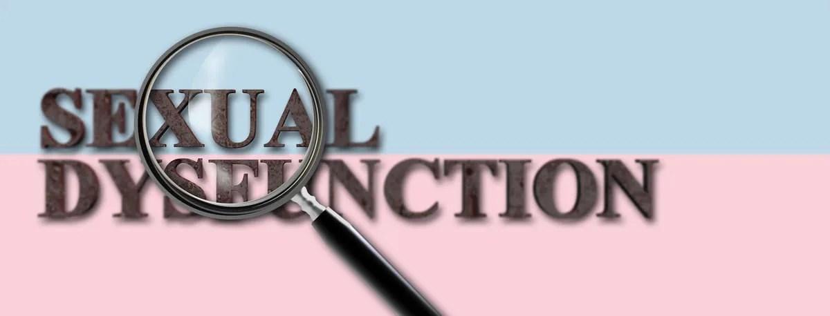 SEXUAL DYSFUNCTION(性機能不全)