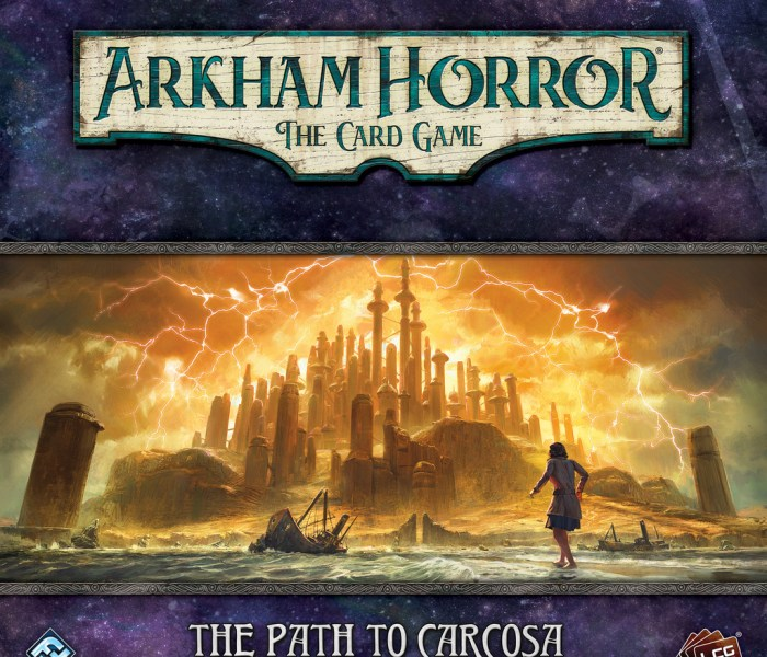 Unboxing – Arkham Horror LCG: The Path to Carcosa