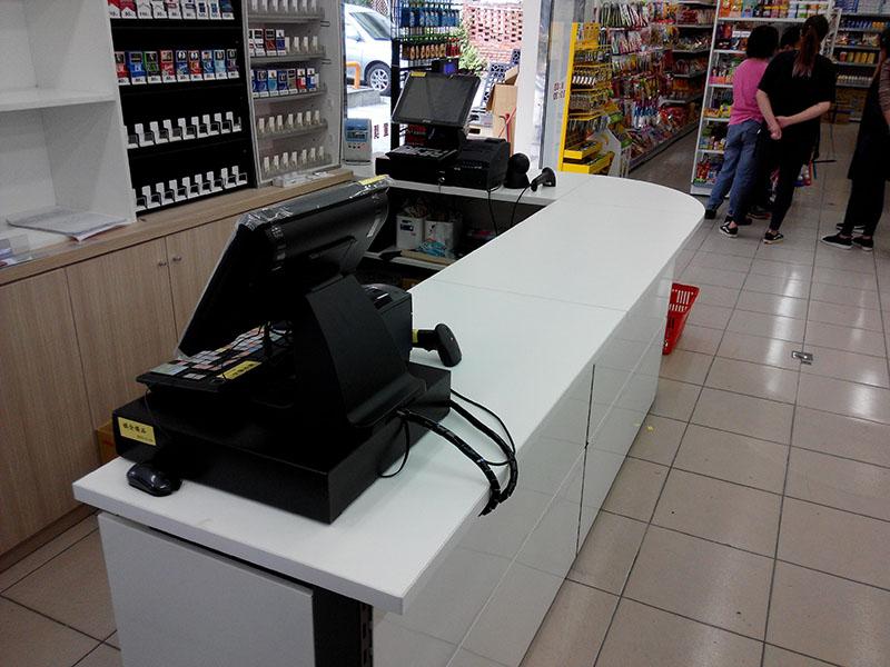 金大鑫五金大賣場POS收銀機系統導入