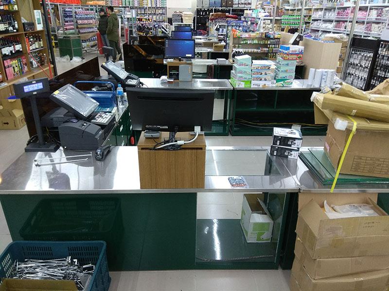 大盤大生鮮百貨南投復興店POS收銀機系統導入
