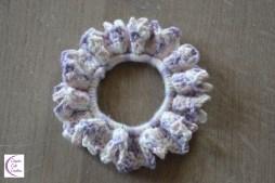 Crocheted hair elastic +°+ Élastique pour cheveux crocheté