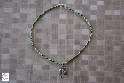 Kumihimo necklace +°+ Collier en kumihimo