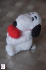 Felted Snoopy +°+ Snoopy feutré