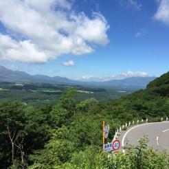 ぶどう峠からの景色