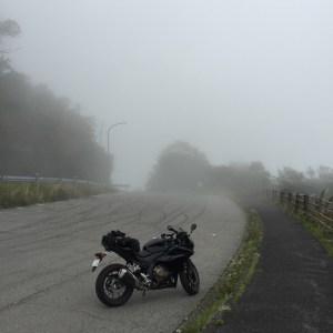 昨年の霧降高原道路のとある展望台