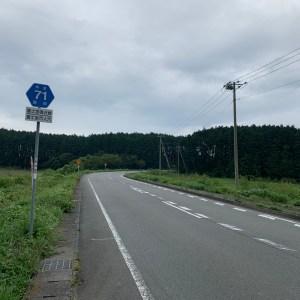 富士山を西側に望む快走ルート「r71」@朝霧高原①