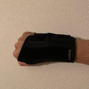 悲しみの腱鞘炎発症の右手