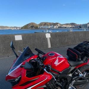 気持ち良い葉山の風景with CBR650R