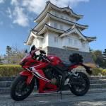 関東七名城「忍城」とCBR650R