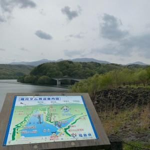 堀川ダムの案内図