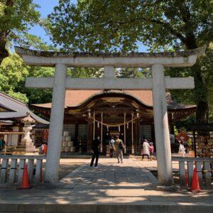武田神社のお散歩②