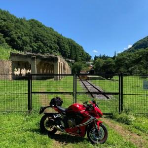 旧太子駅とCBR650R①