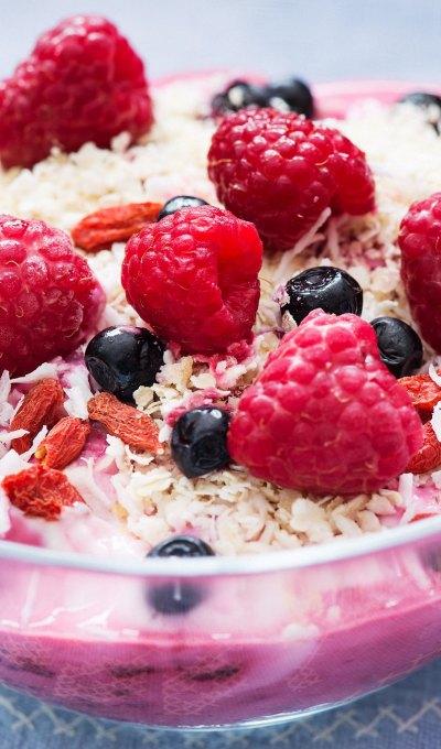 Fruity Coconut Breakfast Bowl