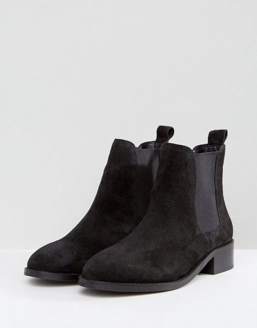 Ankle Boots - Black Suede 2