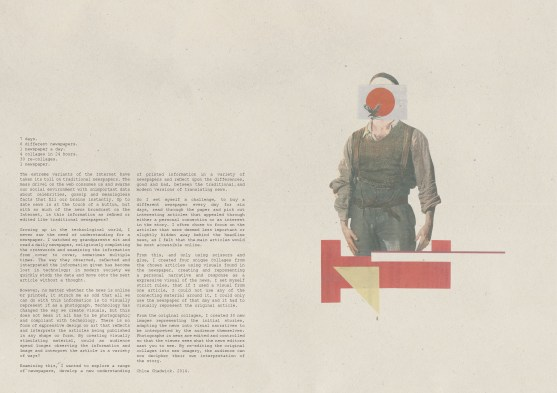 Newspaper Collages