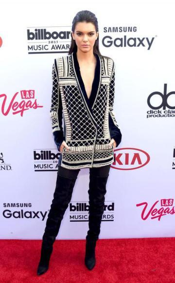 Kendall Balmain h&m