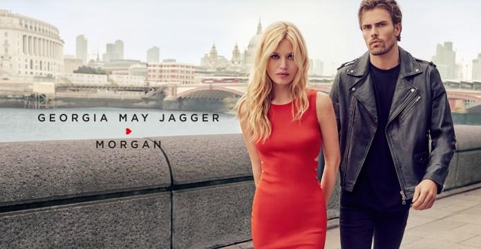 Morgan x Georgia May Jagger