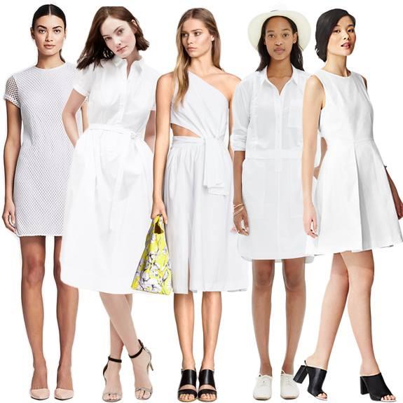 les robes blanches pour l'été