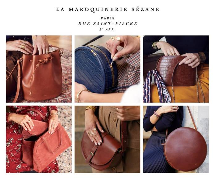 maroquinerie Sezane