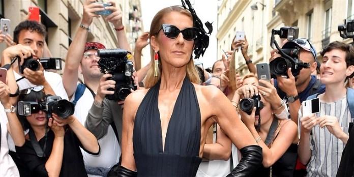 Celine Dion paparazzi