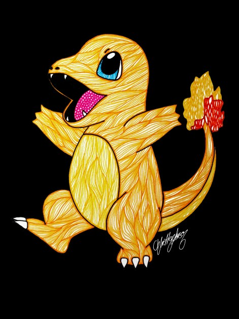 3. Roasted Charmander (1)