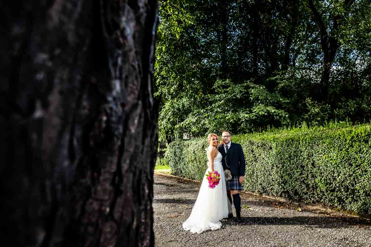 Wedding photography at The Dumbuck Hotel, Dumbarton weddings