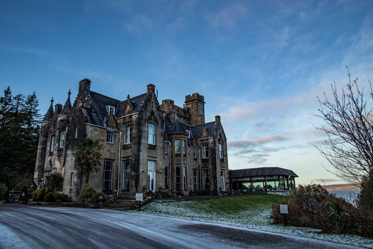Best Scottish wedding venue Stonefield Castle