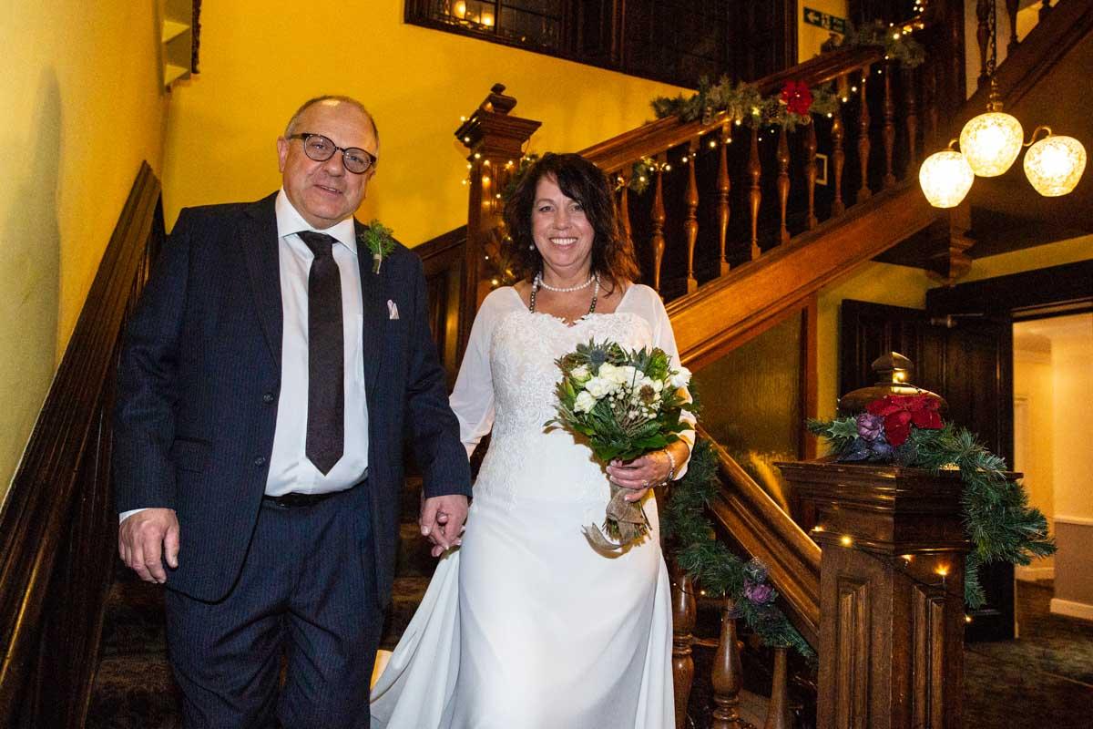 Stonefield Castle interior wedding photography