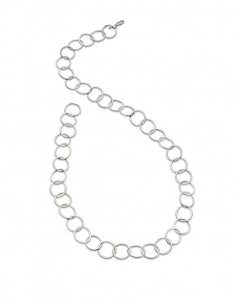 """classic 18"""" handmade sterling silver chain £150"""