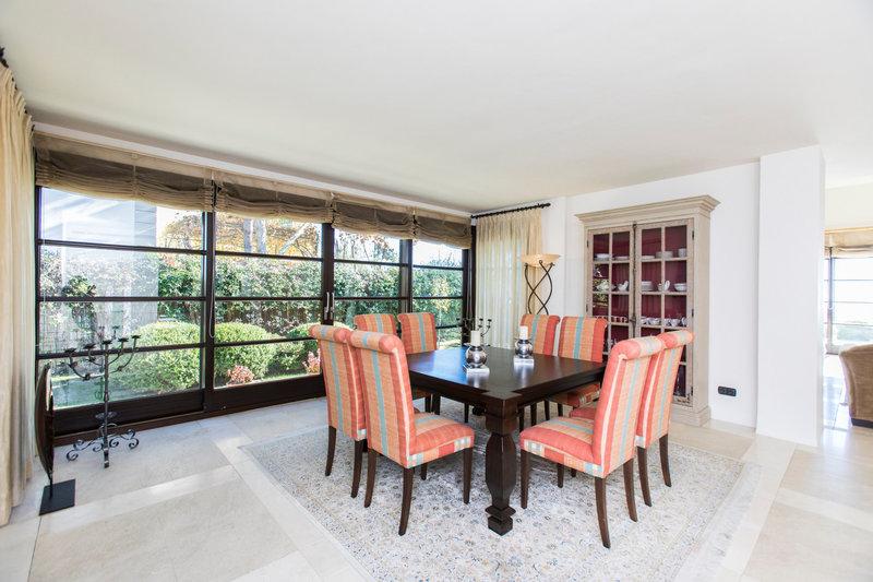Dining Room of Spectacular villa in Benahavis